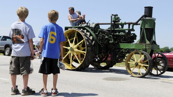 In this HTR Media file photo, streets are lined with people for the Dairyland Festival.