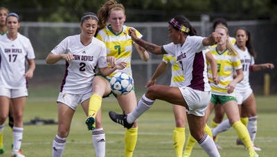 ASU soccer is adding five new scholarship players for the 2016 season.