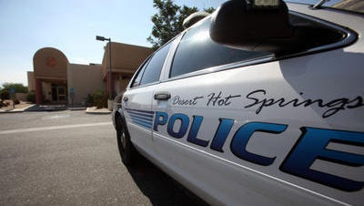 Desert Hot Springs police are investigating a three-car collision that left one person dead Thursday night.