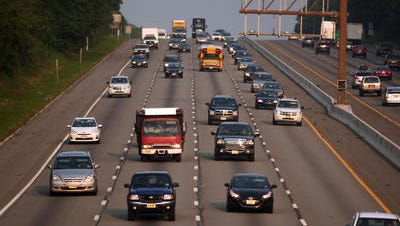 Daily Record file photo Memorial Day weekend is expected to produce heavy traffic this year.