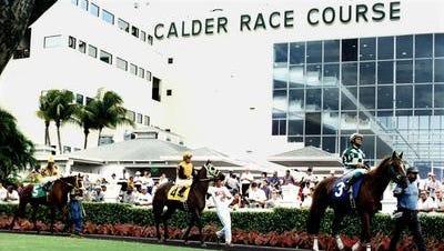 File photo of Calder Casino & Race Course in Miami Gardens, Fla.