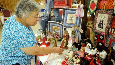 The 35th annual Crafts Fest begins Friday at the Baxter County Fairgrounds.