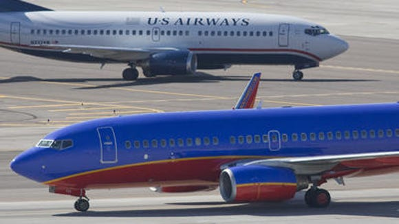 US Airways and Southwest are the main tenants at Terminal 4 at Phoenix Sky Harbor International Airport