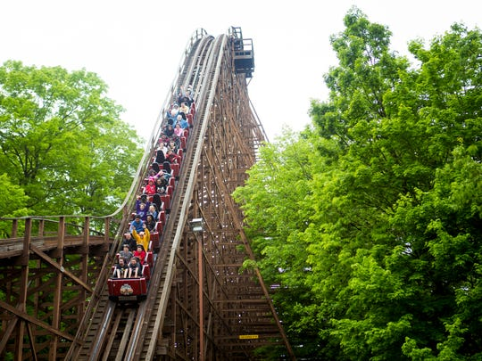 The Beast at Kings Island is the world's longest wooden