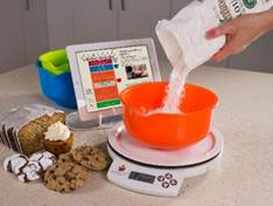 Baig bake off weighing high tech digital scales for Perfect bake scale system