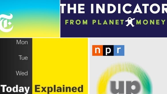 'The Daily,' 'The Indicator,' 'Today, Explained' and