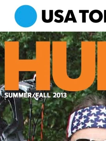 Usa today puts out a hunt and fish magazine hunting indiana for Hunting and fishing magazine