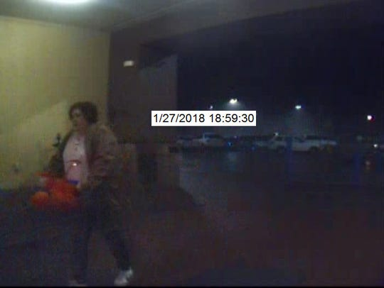 Video of person of interest in attempted shoplifting