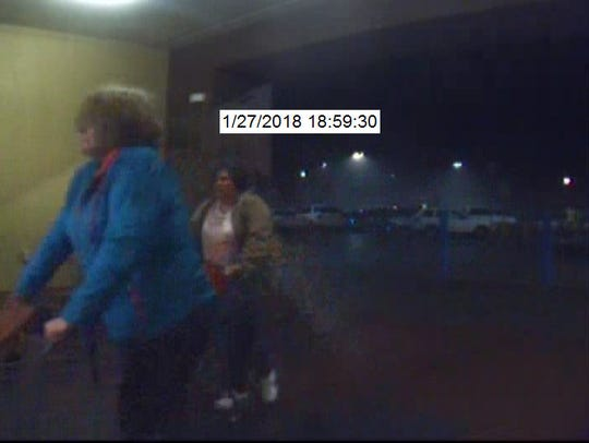 Two women being sought by police for questioning in