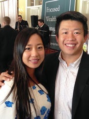 Mei Mei Wu with Jervis Wong of Focused Weath Management,