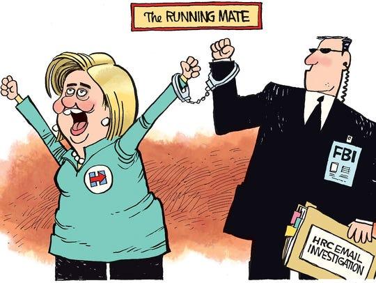 Hillary's running mate