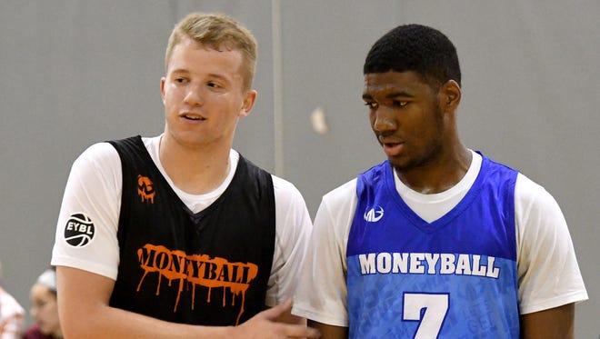 Thomas Kithier, left, and Aaron Henry will be freshmen for Michigan State next season.
