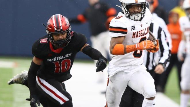 2019 Massillon vs. McKinley high school football game.