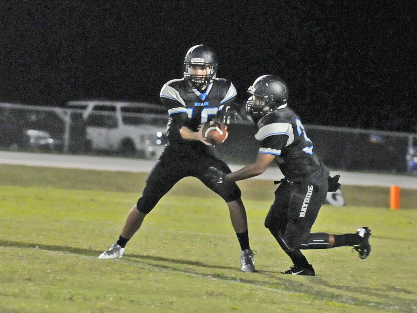 Bayside High traveled to Okeechobee for a district game on Friday night.