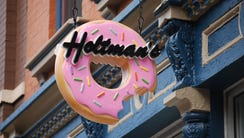 The sign at Holtman's Donuts in Over-the-Rhine