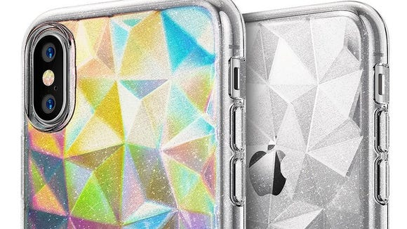 This is a must-have case for glitter lovers.