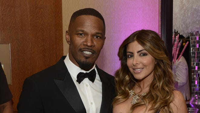Jamie Foxx and Larsa Pippen May 2, 2014
