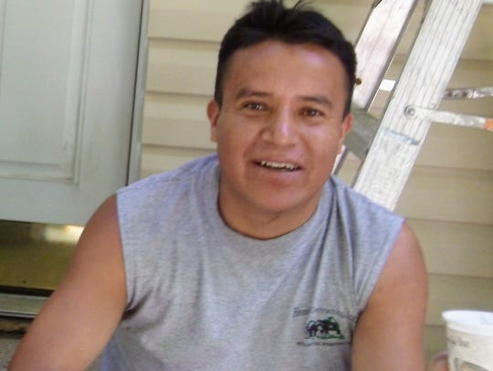 Manuel Aguaiza died in January after being struck by