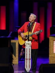 Jim Ed Brown is performing at the Saturday Night show of the Grand Ole Opry July 5, 2014 at the Opry House.