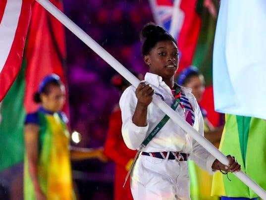 USP OLYMPICS: CLOSING CEREMONIES S OLY BRA