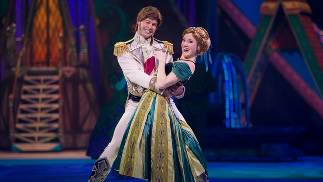 "Disney on Ice presents ""Frozen"" opens Wednesday and continues through Sunday at the Cajundome."