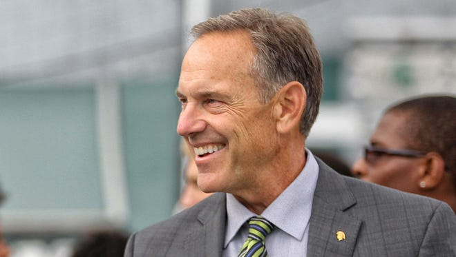 Michigan State football coach Mark Dantonio