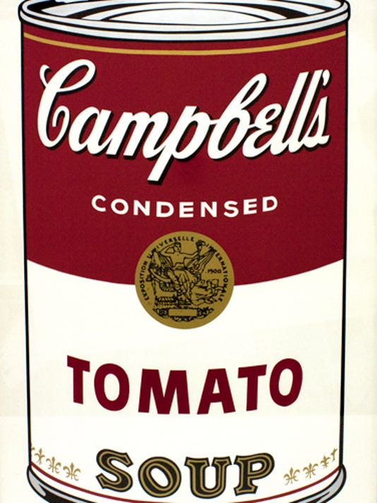 Campbell's Soup I (Tomato)