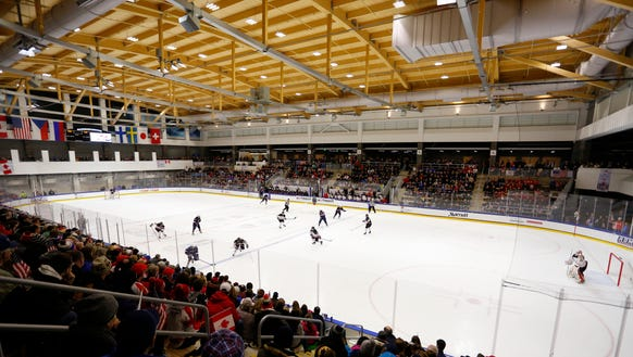 The new HarborCenter rink in Buffalo will be hosting