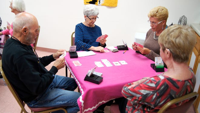 The Senior Olympics included a bridge tournament in Silver City this year.