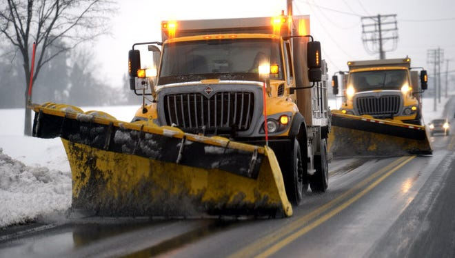 About 700 PennDOT plows will be equipped with tracking devices that will allow supervisors - and citizens - to see which roads have been plowed in real time.
