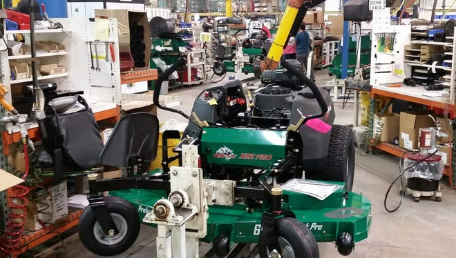 Bob-Cat Mowers are manufactured in Johnson Creek.