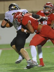 Sweetwater's Kiante McCoy and Kobe Clark tackle Seminole's