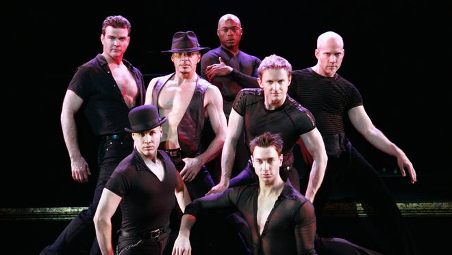 """The men of the musical,  """"Chicago."""""""