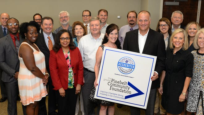 The Greater PineBelt Community Foundation recently received National Standards accreditation.