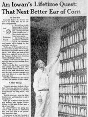 This story on Raymond F. Baker was published in the June 26, 1976, edition of the Des Moines Tribune.