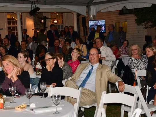 Guests at Groundwork Hudson Valley's second Urban Garden Party last month.