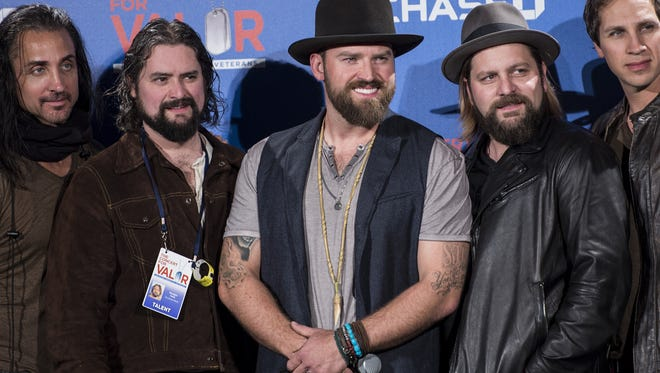 Zac Brown Band are your 2015 Warchant act.