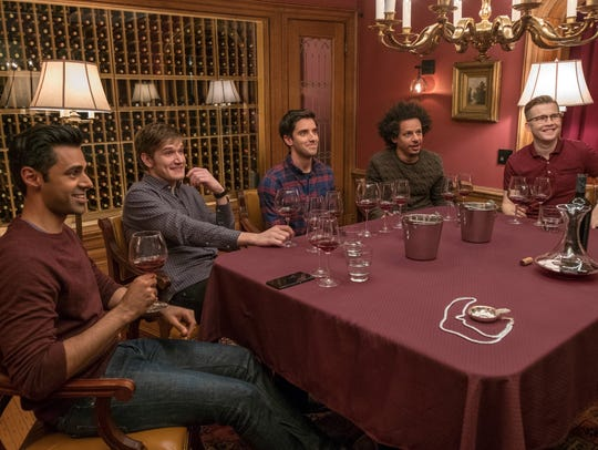 """While the women hit the town In """"Rough Night,"""" the"""