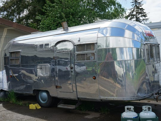 This 1953 Airstream Flying Cloud is what started the