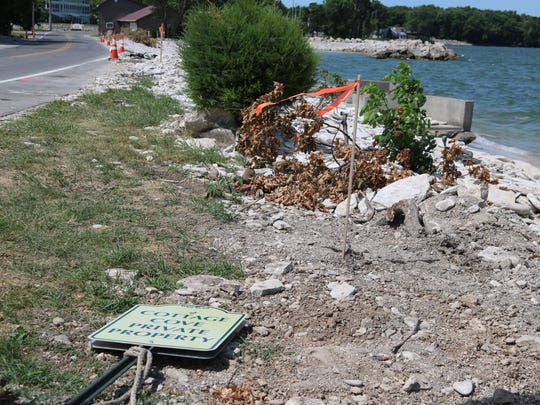 The Cottage Cove area in Marblehead was clobbered by