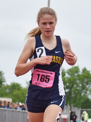Taryn Parks of Greencastle-Antrim currently holds the top 1600M time in the state of Pennsylvania.