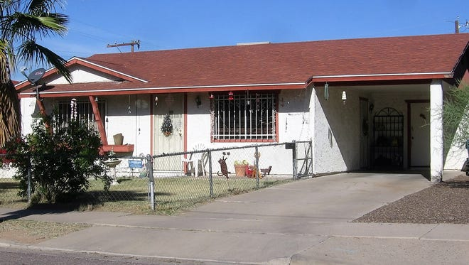 A home that was built by John F. Long in the Coronado neighborhood of Phoenix.