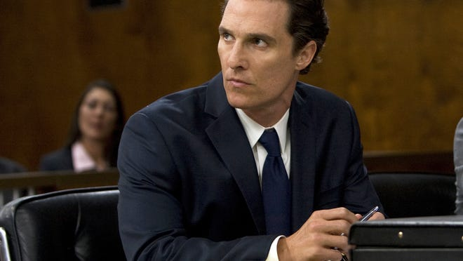 "Matthew McConaughey portrated Mick Haller in ""The Lincoln Lawyer."""