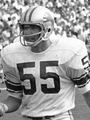 Wayne Walker, football, 1936-2017