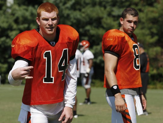 Dalton entered his first training camp in 2011 wondering