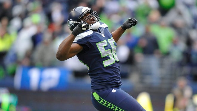 Seahawks DE Cliff Avril is a key component of Seattle's imposing pass rush.