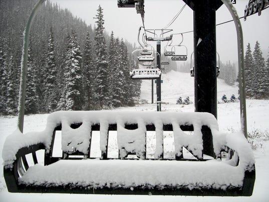 ski area snow