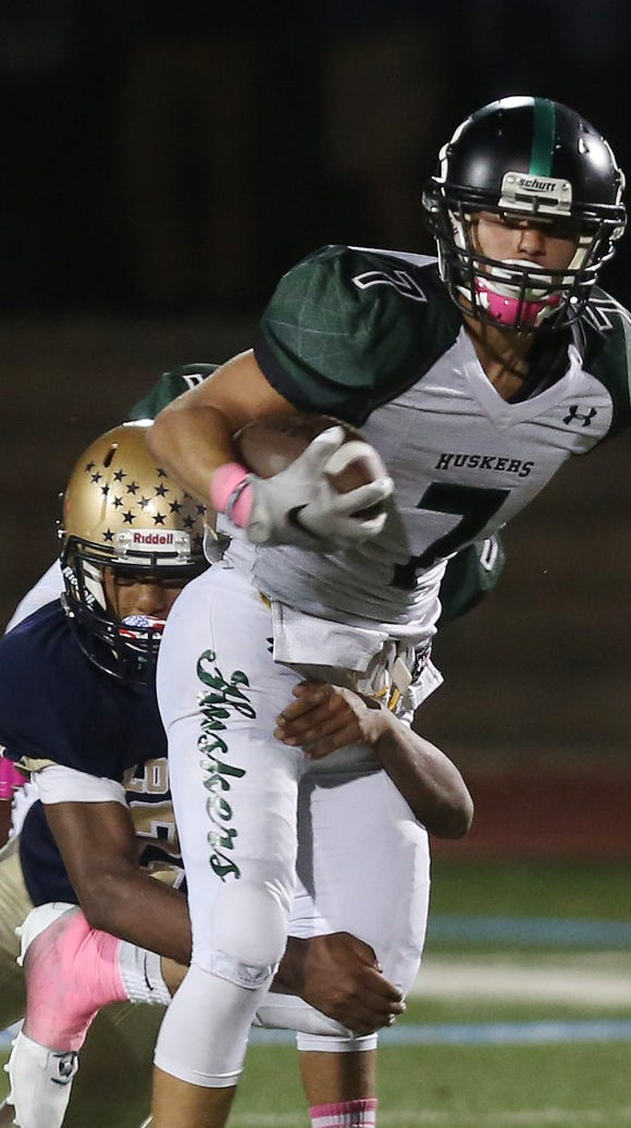 Yorktown defeated Lourdes 31-7 in football action at