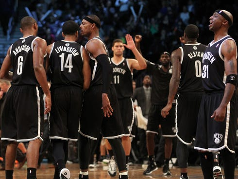 The Nets showed what they can be this season in a 101-100 win over the Heat.