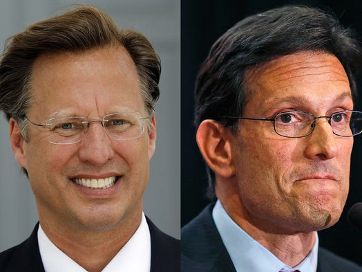 House Majority Leader Eric Cantor's surprise defeat on June 10 to Dave Brat was the equivalent of a political earthquake.